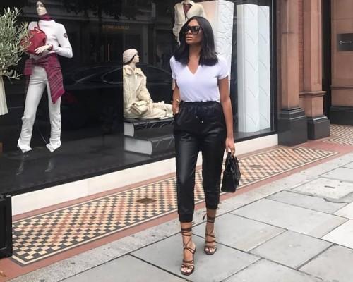 Pantaloni De Piele La Moda In 2020