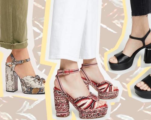 Sandale cu platforma 2021 | Modele deosebite